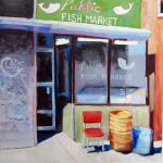 "<font size=7 color=""#ff0000"">&#9679;</font>SOLD </br>Public Fish Market (Harlem, circa 2000) </br>3/8/15, New York, NY </br>acrylic  </br>posted 3/9/15 1:15pm"
