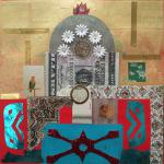 The Architecture of Money </br>4/17/15  New York, NY </br>mixed media </br>posted 4/18/15  3:30pm