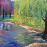 Tears of a Willow </br>4/20/15  New York, NY </br>pastel </br>posted 4/21/15  3:00pm