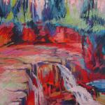 Gooseberry Falls, Minnesota </br>5/24/15  New York, NY </br>pastel </br>posted 5/15/15  2:30pm