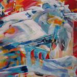 Merry-Go-Round </br>5/19/15 New York, NY </br>acrylic </br>posted 5/20/15  4:00pm