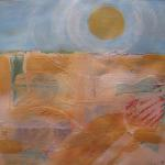 Prairie Sun  </br>5/20/15 New York, NY </br>mixed media </br>posted 5/21/15  4:30pm