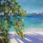 "<font size=7 color=""#ff0000"">&#9679;</font>SOLD </br>Sea Grapes by the Bay </br>5/25/15 New York, NY </br>acrylic </br>posted 1:30 5/26/15"