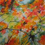 SOLD Poinciana 5/29/15  Nassau, Bahamas watercolor posted 5/29/15  11:45pm
