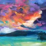 SOLD Cloud Appreciation Society </br>6/15/15 New York, NY </br>acrylic </br>posted 6/16/15  1:30pm
