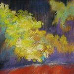 The Persistence of Yellow </br>6/21/15 New York, NY </br>pastel </br>posted 6/22/15 1:15pm