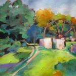 Old Mill, Tobago </br>6/23/15 New York, NY </br>acrylic </br>posted 1:30 6/24/15