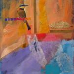 The Artist in Her Studio, Day #196 7/15/15  New York, NY mixed media posted 4:30pm 7/16/15