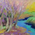 Wild for Color ​10/12/15  Monticello, NY pastel posted 11:15pm 10/18/15