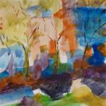 City Boulevard 10/25/15  New York, NY watercolor posted 10:30pm 10/31/15