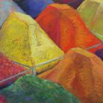 Istanbul Spice Market </br>1/11/15, New York, NY </br>pastel </br>posted 1/12/15 1:50am ​