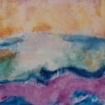 Making Waves 11/14/15  New York, NY watercolor posted 11:45 pm 11/22/15