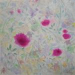 Winter Memory Garden  </br>1/14/15, New York, NY </br>acrylic </br>posted 1/14/15 11:15pm ​