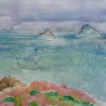Lost Islands Revisited ​​11/26/15 New York, NY watercolor posted 3:00pm 12/04/15