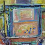 Window Shopping 11/30/15 New York, NY pastel posted 11:25m 12/07/15