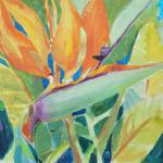 Bird of Paradise  </br>1/16/15, New York, NY </br>mixed media </br>posted 1/17/15 1:00 pm
