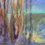 SOLD Landscape with Abandon!  12/15/15 New York, NY pastel posted 2:00pm 12/23/15