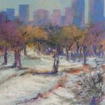 ​Waiting for Snow  12/26/15 New York, NY pastel posted 2:45pm 12/30/15