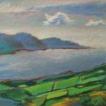 Greener Pastures </br>2/9/15, New York, NY </br>pastels </br>posted 2/10/15 11:45pm ​