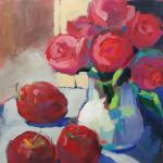 Classic Red </br>2/11/15, New York, NY </br>acrylic </br>posted 2/12/15 12:00pm ​