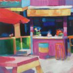 Drifter's </br>2/12/15, New York, NY </br>acrylic </br>posted 2/13/15 12:00pm ​