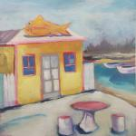 Tony's Take Out </br>2/15/15, New York, NY </br>acrylic </br>posted 2/16/15 4:00pm ​