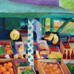 West Bay Market </br>2/17/15, New York, NY </br>acrylic </br>posted 2/18/15 2:30pm